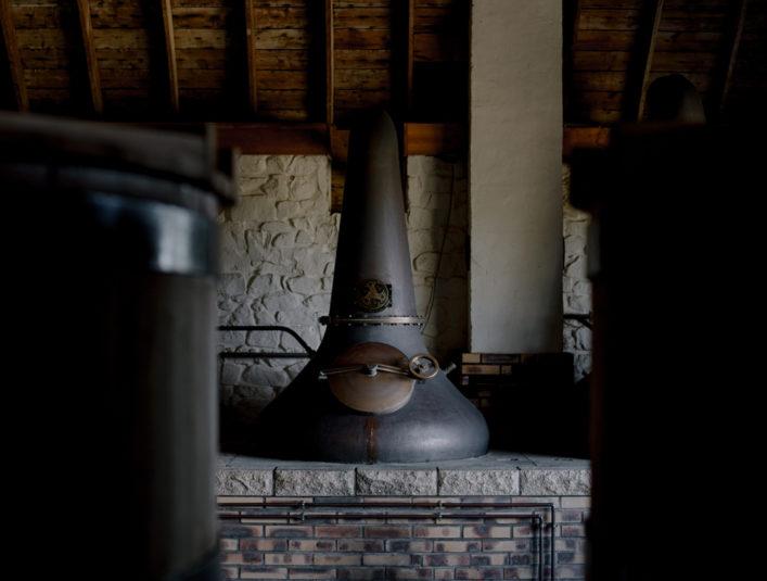 Alambic distillation Celtic Whisky Distillerie