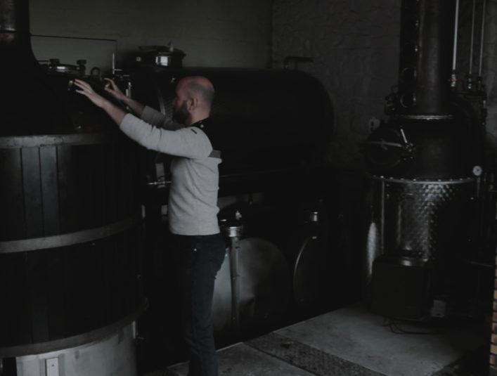 Mashing Celtic Whisky Distillerie